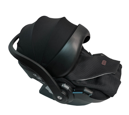 Voksi® Odejica za avtosedež in voziček Dark Grey