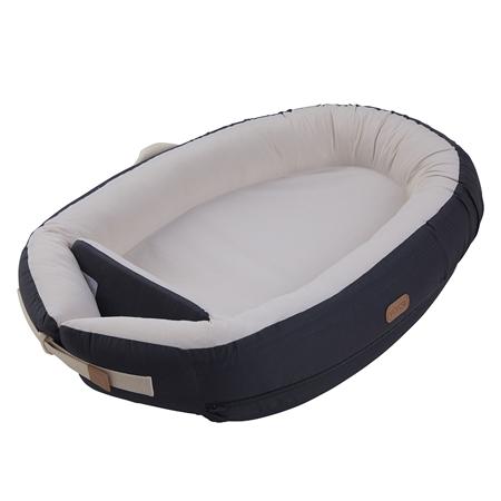 Slika Voksi® Gnezdece za dojenčka Premium Dark Grey