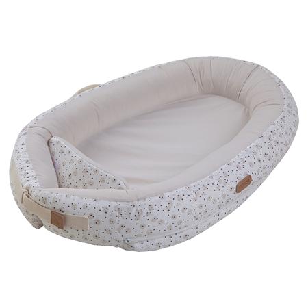 Slika Voksi® Gnezdece za dojenčka Premium Grey Moon