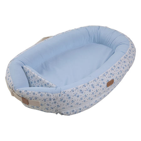 Voksi® Gnezdece za dojenčka Premium Blue Moon