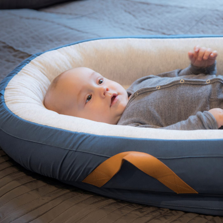 Slika Voksi® Gnezdece za dojenčka Light Grey