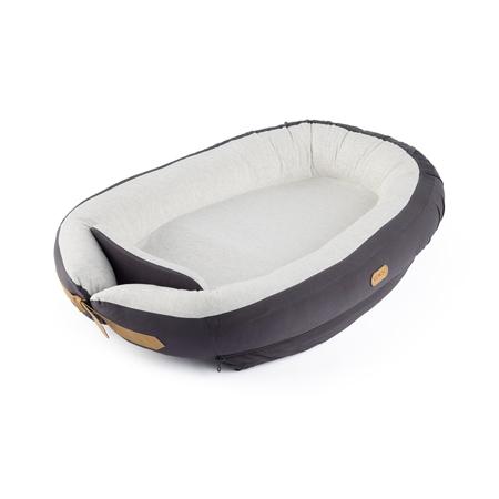 Slika Voksi® Gnezdece za dojenčka Dark Grey