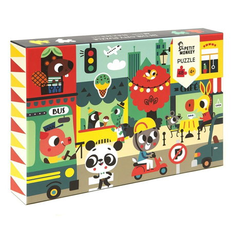 Slika Petit Monkey® Puzzle Mesto