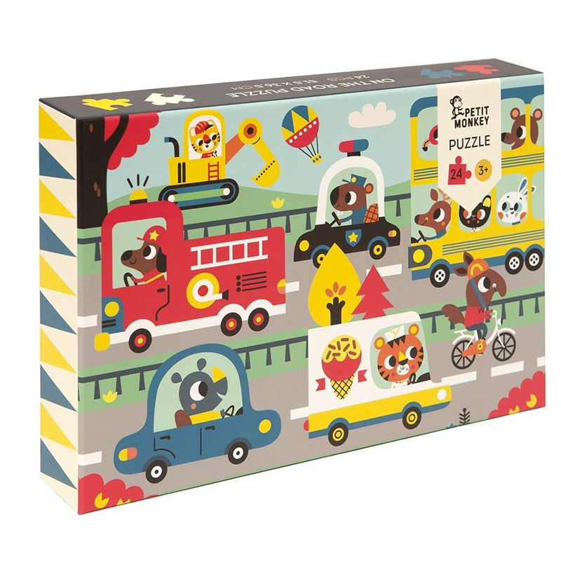Petit Monkey® Puzzle Cesta