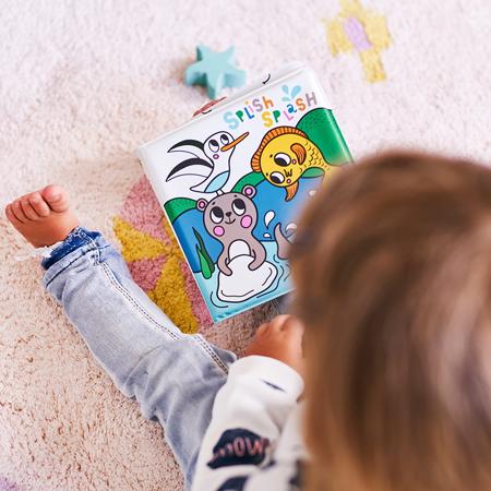 Petit Monkey® Magična knjigica za kopel Splish Splash Sea