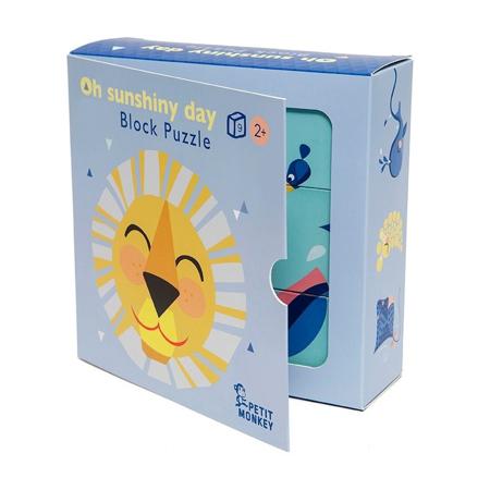Petit Monkey® Kartonaste kocke Oh Shiny Day