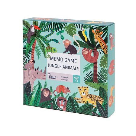 Slika Petit Monkey® Spomin Jungle Animals