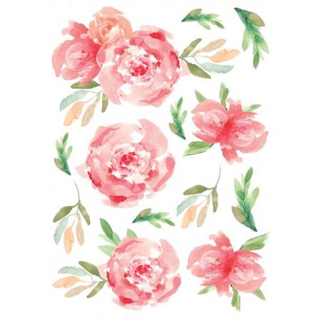 Slika Pick Art Design® Stenske nalepke Rože manjše