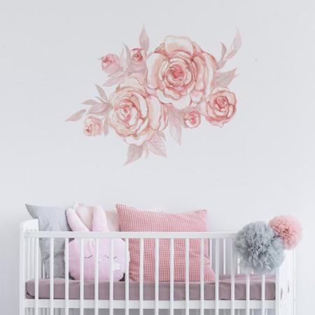 Slika Pick Art Design® Stenska nalepka Roža