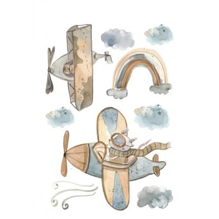 Pick Art Design® Stenske nalepke Fly Me To the Moon