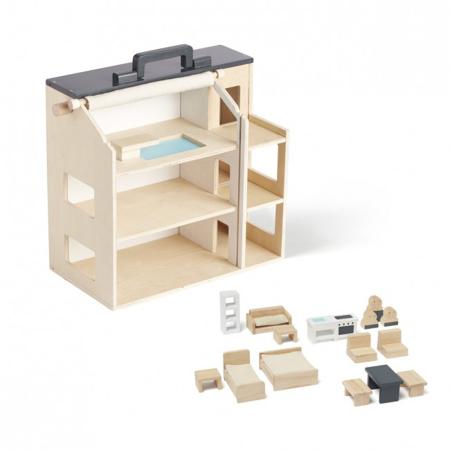 Slika Kids Concept® Lesena hiša Aiden