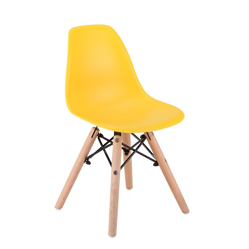 EM Furniture Eiffel Otroški stolček Yellow