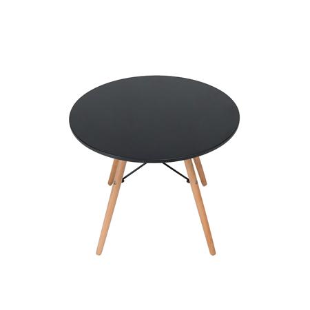 EM Furniture Otroška mizica Black