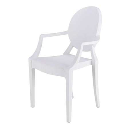 Slika EM Furniture Eiffel Otroški stolček Modern White
