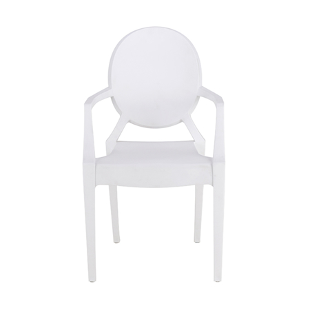 Picture of EM Furniture Scandinavian Inspired Kid's chair Modern White