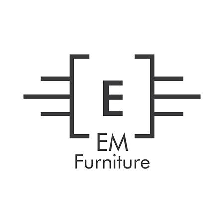 EM Furniture Eiffel Otroški stolček Modern Pink