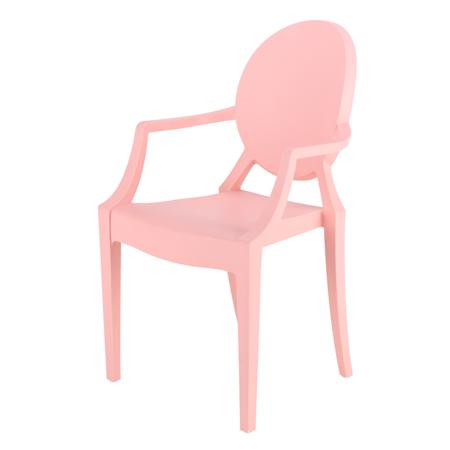Slika EM Furniture Eiffel Otroški stolček Modern Pink