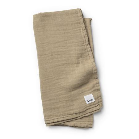 Slika Elodie Details® Mehka muslin odejica Warm Sand 80x80