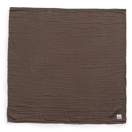 Slika Elodie Details® Mehka muslin odejica Chocolate 80x80