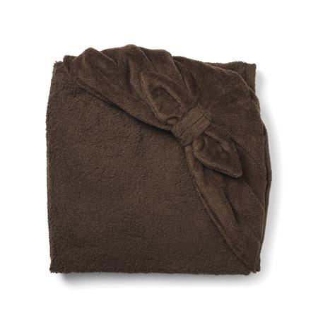 Elodie Details® Brisača s kapuco Chocolate Bow 80x80