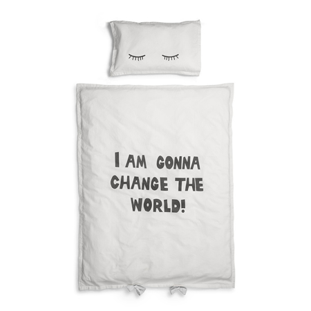 Slika Elodie Details® Posteljnina Change The World 100x130