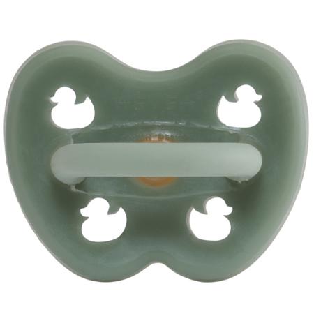 Slika Hevea® Ortodontska duda iz kavčuka Moss Green RAČKA