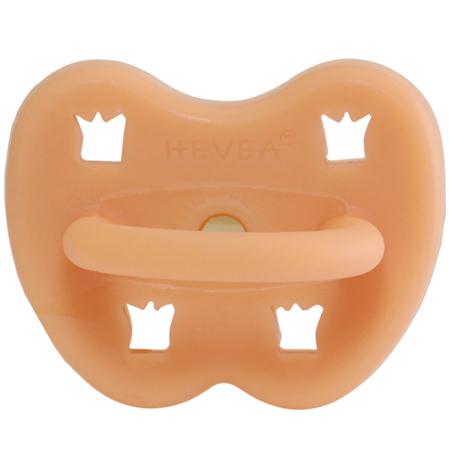 Slika Hevea® Ortodontska duda iz kavčuka Cantaloupe KRONCA