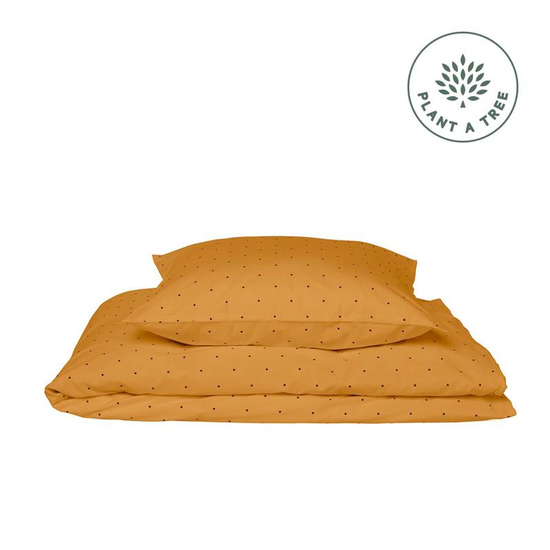 Liewood® Posteljnina Junior Classic Dot Mustard 100x140