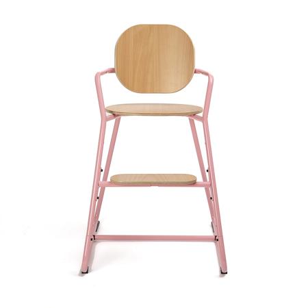 Slika Charlie Crane® Visok stolček za hranjenje TIBU Tod Pink