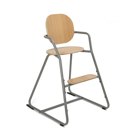 Slika Charlie Crane® Visok stolček za hranjenje TIBU Grey