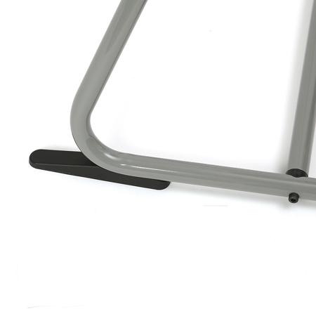 Charlie Crane® Visok stolček za hranjenje TIBU Grey