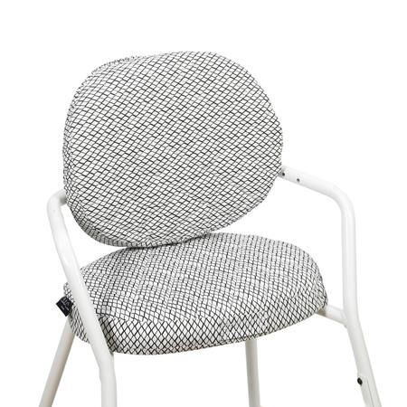 Slika Charlie Crane® Blazina za stolček TIBU Diamond B&W