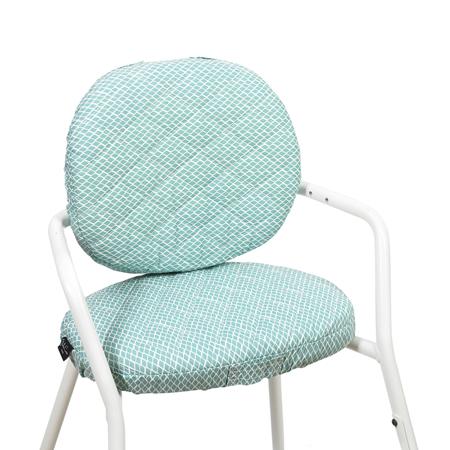 Slika Charlie Crane® Blazina za stolček TIBU Diamond Blue