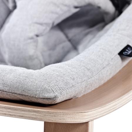 Charlie Crane® Ležalnik in gugalnik za dojenčka LEVO Hetre Grey