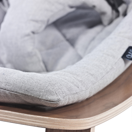 Charlie Crane® Ležalnik in gugalnik za dojenčka LEVO Noyer Grey