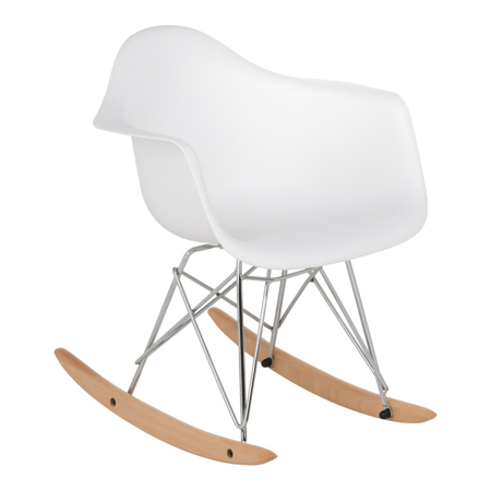 EM Furniture RAR Otroški gugalnik White