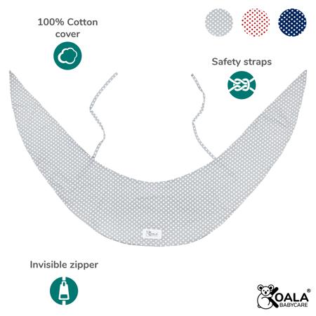 Slika Koala Babycare® Prevleka za blazino za nosečnice Hug Comfy Grey