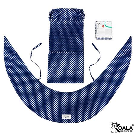 Slika Koala Babycare® Prevleka za blazino za nosečnice Hug Comfy Blue +