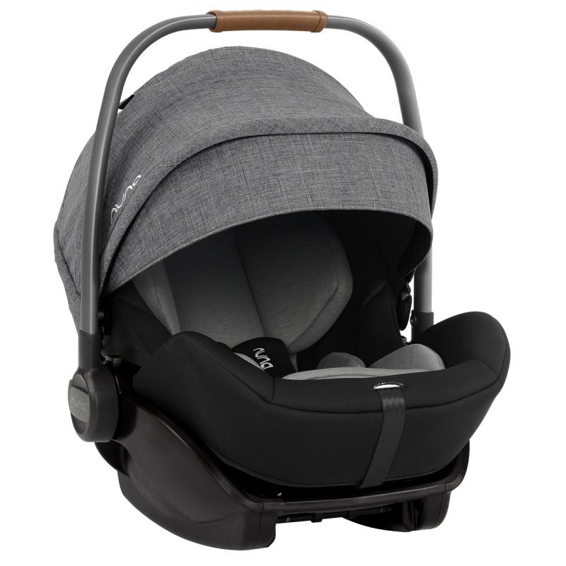 Nuna® Otroški avtosedež Arra™ i-Size 157° z IsoFix z bazo 0+ (0-13 kg) Charcoal