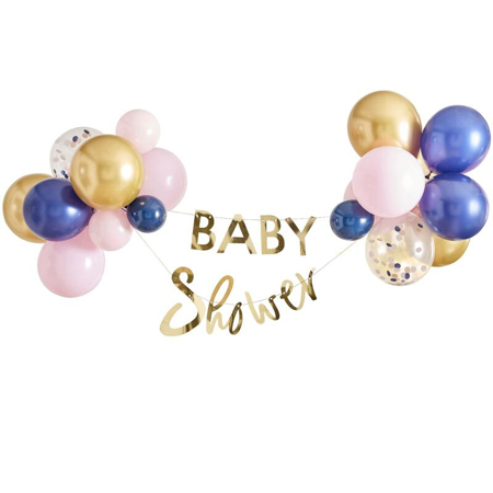 Ginger Ray® Viseč napis z baloni Baby Shower