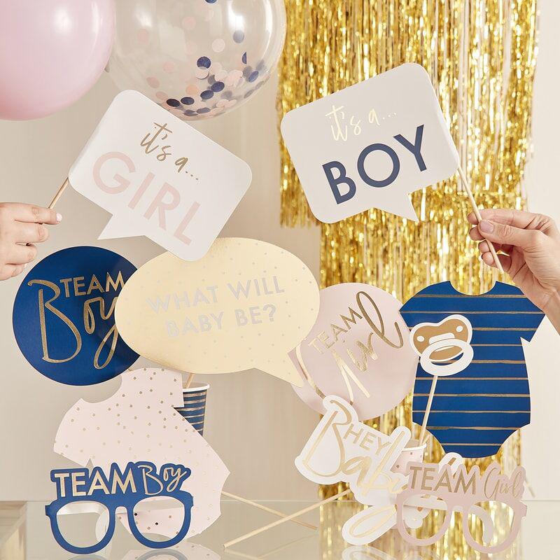Ginger Ray® Komplet za fotografiranje Boy/Girl