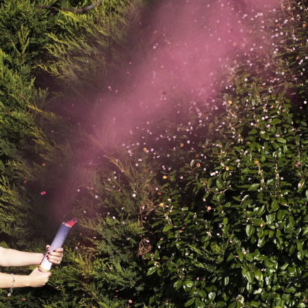 Slika Ginger Ray® Strelec konfetov Pink Smoke