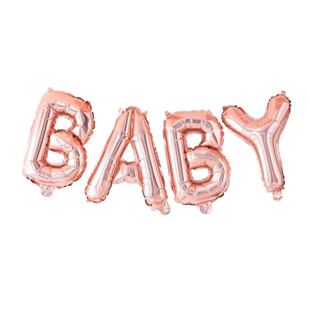 Slika Ginger Ray® Viseči baloni Baby Rose Gold