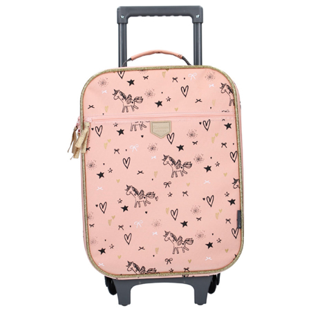 Slika Kidzroom® Otroški kovček Fearless Pink