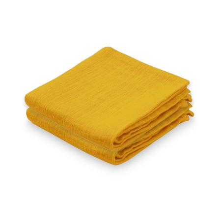 Slika CamCam® Komplet tetra pleničk Mustard 70x70