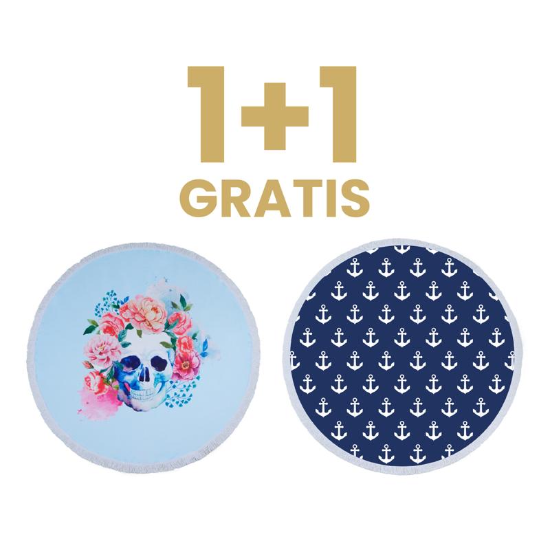 Olala® 1+1 GRATIS Brisača Wanderlust & Anchora