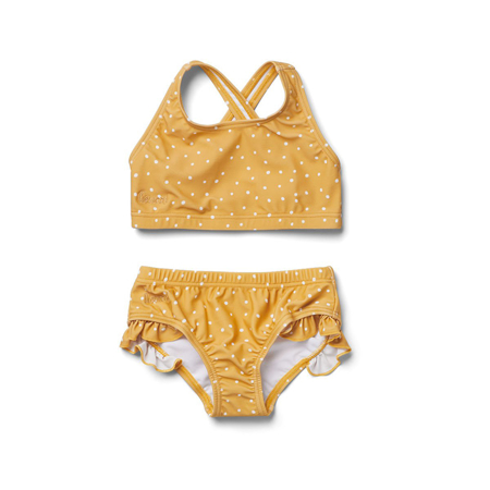 Slika Liewood® Otroške bikini kopalke Juliet Confetti Yellow Mellow 104/110