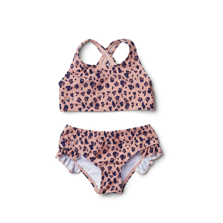 Slika Liewood® Otroške bikini kopalke Juliet Mini Leo/Coral Blush