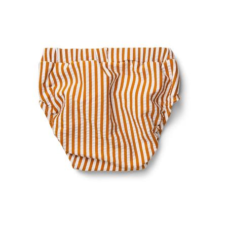 Slika Liewood® Otroške kopalke Frej Stripe Mustard