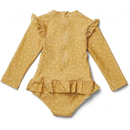 Liewood® Otroške enodelne kopalke Sillie Confetti Yellow Mellow